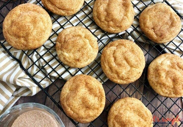 Simple Snickerdoodles- Keto LC GF