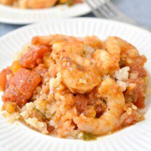 keto shrimp creole