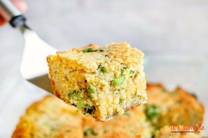 low carb broccoli cheddar cornbread