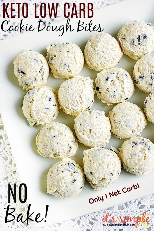 low carb no bake dessert