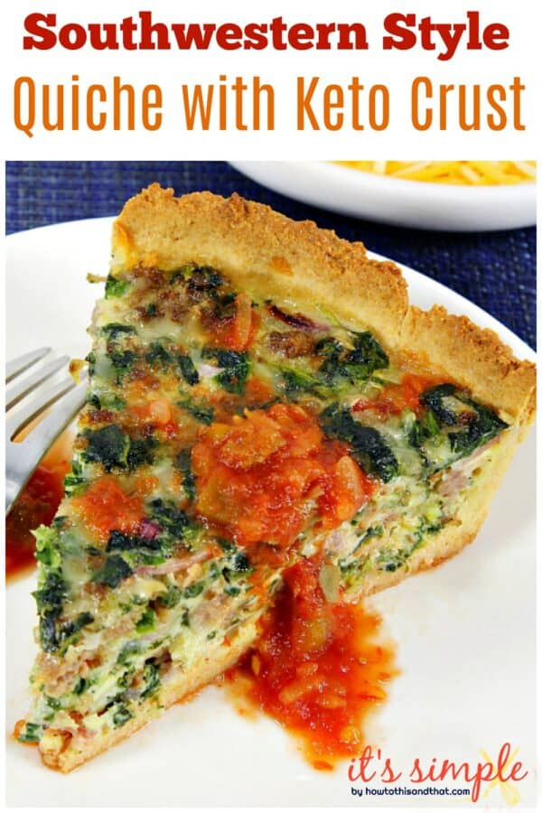 easy keto quiche