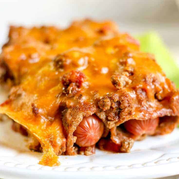 Keto Chili Dog Casserole Recipe