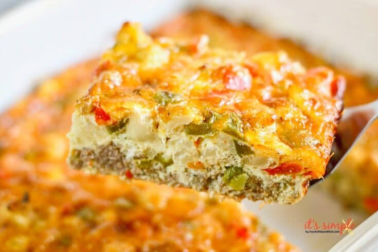 Keto Overnight Breakfast Casserole