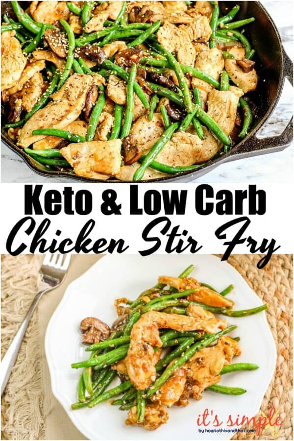 green bean chicken stir fry