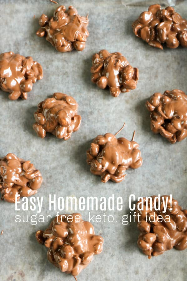 easy low carb chocolate candy